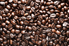 Brown-Kaffeehintergrund Lizenzfreies Stockfoto