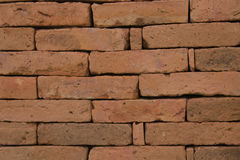 Brown kamienia bloku ściany stary tło Zdjęcie Royalty Free