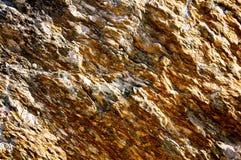 Brown kamienna ciężka powierzchnia, makro- zdjęcie stock