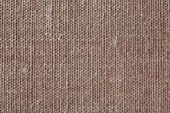Brown kanfastextur eller bakgrund Arkivbild