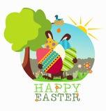 Ostern-Kaninchen Lizenzfreie Stockfotografie