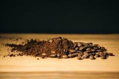 Brown kawowe ziemie, lokalizować jako tło obraz stock