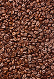 Brown kawy fasole Zdjęcie Stock
