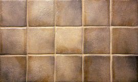 Brown kitchen tiles Royalty Free Stock Images