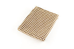Brown kitchen towel Stock Photography