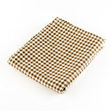 Brown kitchen towel Stock Image