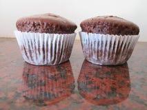 Brown-kleine Kuchen Stockbilder