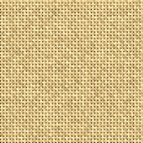 Brown knit pattern or texture. Fabric Royalty Free Stock Photography