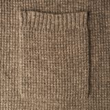 Brown knitted cloth texture Royalty Free Stock Photography