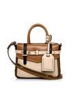 Brown kobiet torebka Zdjęcie Stock