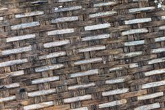 Brown-Korbbehälterhintergrund stockfotos