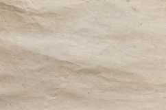 Brown kraft paper texture. Grunge recycled background. Stock Image