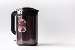 Brown kruszcowy bezprzewodowy elektryczny czajnik Obrazy Royalty Free
