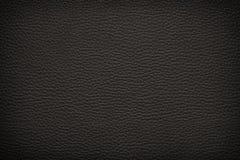 Brown läderbakgrund Arkivbild