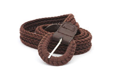 Brown ladies belt Royalty Free Stock Photography