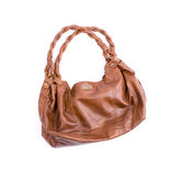 Brown ladies handbag Royalty Free Stock Photo