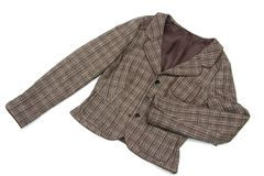 Brown Ladies Jacket Stock Images