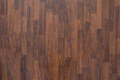 Brown laminate flooring background. Brown wood laminate flooring texture background in house Stock Images