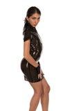 Brown latex Stock Photo