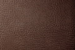 Brown leather Stock Photography