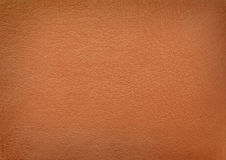 Brown leather. Texture background, material Stock Images