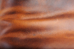 Brown leather Royalty Free Stock Photography