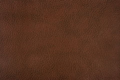 Brown leather. Dark brown leather texture background Royalty Free Stock Images