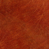 Brown leather. Texture with scratches Royalty Free Stock Photos