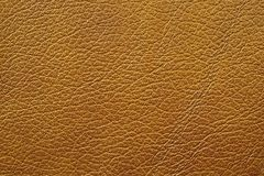 Brown leather. Furniture upholstery leather of brown color Stock Photo