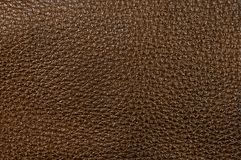 Brown Leather. Grainy texture from brown leather stock images