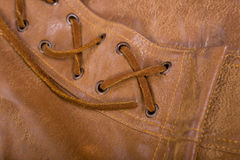 Brown leather Royalty Free Stock Image