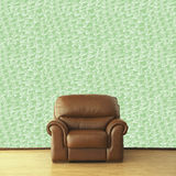 Brown leather armchair in classic vintage interior Royalty Free Stock Image