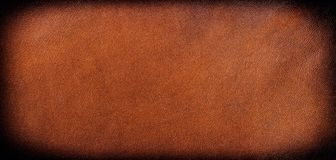 Brown leather background Royalty Free Stock Photo