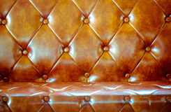 Brown Leather Background Royalty Free Stock Image
