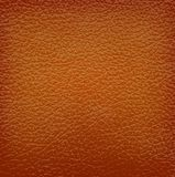 Brown leather background. Stock Images