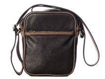 Brown leather bag Royalty Free Stock Images