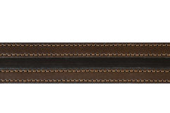 Brown leather belt fashion Royalty Free Stock Photo