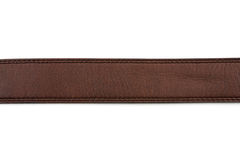 Brown leather belt Stock Images