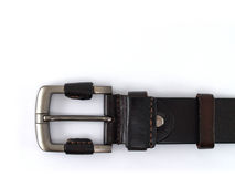 Brown leather belt Stock Photography
