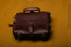 Brown Leather Briefcase Royalty Free Stock Image