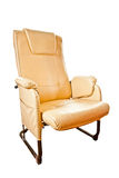 Brown leather chairs Royalty Free Stock Photography