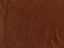 Brown leather. Close up of brown leather for background Royalty Free Stock Photo