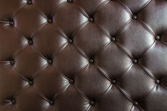 Brown leather close-up background Stock Photo