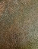 Brown leather close up detail Stock Photo