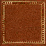 Brown leather cover Royalty Free Stock Photo