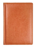 Brown leather diary book cover Royalty Free Stock Image
