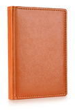 Brown leather diary book Royalty Free Stock Photography
