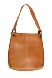 Brown leather handbag Royalty Free Stock Image