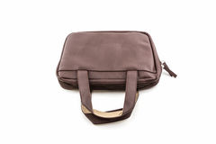 Brown Leather Handbag. Royalty Free Stock Photography
