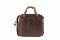 Brown Leather Handbag. Stock Photos